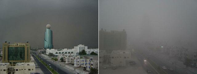 Песчаная буря в Шардже